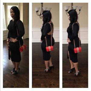Dresses & Skirts - Sexy black dress size Small